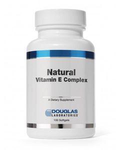 Natural Vitamin E Complex 400 IU 100 sgels Douglas Labs