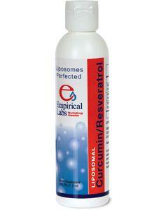 Liposomal Curcumin/Resveratrol 6 oz Empirical Labs
