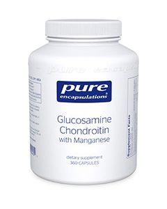 Glucosamine Chondroitin with Manganese 360 Pure Encapsulations
