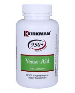 Yeast-Aid 200 caps Kirkman Labs