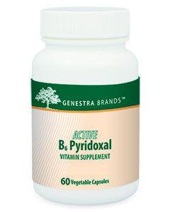 Active B6 Pyridoxal 60 vcaps Genestra / Seroyal