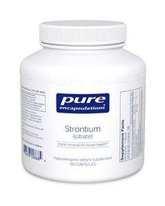 Strontium (citrate) 180 Pure Encapsulations