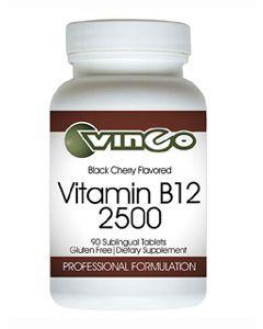 Vitamin B12 2500 - 90 sublingual tabs by Vinco