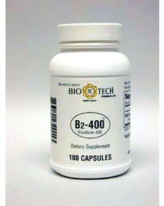 Vitamin B-2 400mg 100 caps by Bio-Tech