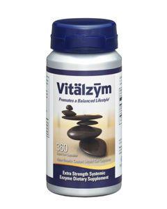 Vitalzym + 360 vegcaps World Nutrition