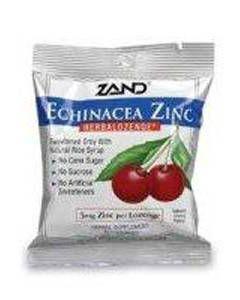 Echinacea Zinc Herbalozenge Cherry 12 bags Zand