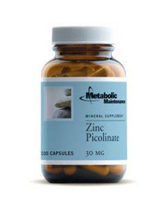 Zinc Picolinate 30 mg 100 caps Metabolic Maintenance