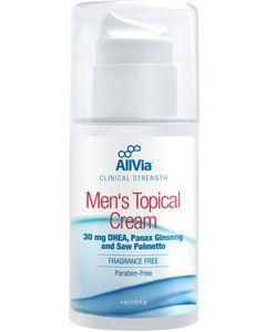 Men's Topical Cream 4 oz by AllVia