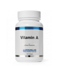 Vitamin A 10,000 IU 100 sgels Douglas Labs