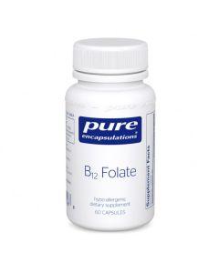 B12 Folate 60 Pure Encapsulations