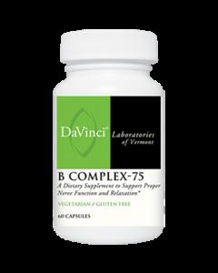 B Complex-75 60 caps Davinci Labs
