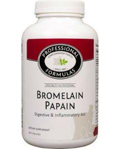 Bromelain Papain 180 caps by Professional Formulas