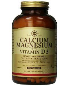 Calcium Magnesium with Vitamin D3 300 tabs