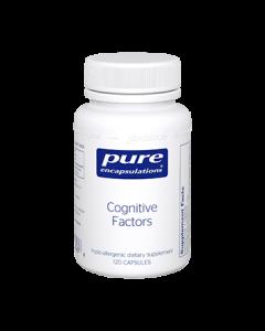 Cognitive Factors 120 caps Pure Encapsulations