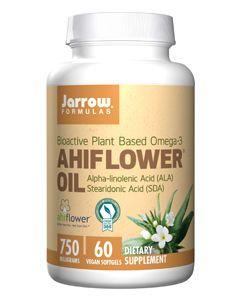 Ahiflower 60 veg sgels by Jarrow Formulas
