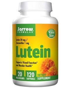 Lutein 20 mg 120 gels by Jarrow Formulas