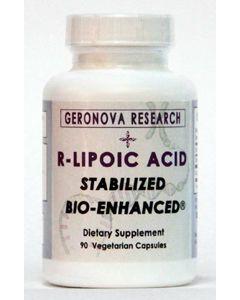 R Lipoic Acid 100mg 90 vcaps by GeroNova Research