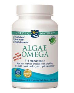 Algae Omega 120 gels Nordic Naturals