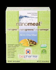 NanoMeal Tropical Fruit 10 pkts by BioPharma Scientific