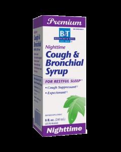 Nighttime Cough & Bronchial Syrup  8 oz Boericke & Tafel