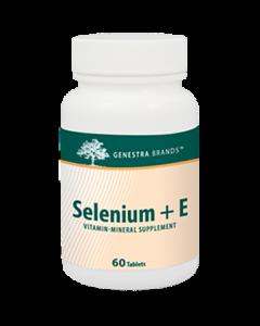 Selenium +E 60 tabs Genestra / Seroyal