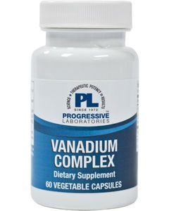 Vanadium Complex 60 vcaps Progressive Labs