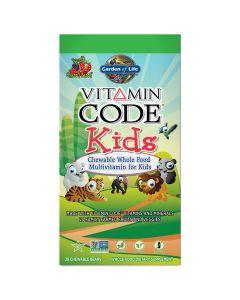 Vitamin Code Kids Chewable Multi