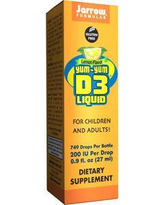 Yum-Yum D3 Liquid 200 IU 0.9 oz by Jarrow Formulas
