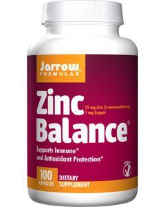 Zinc Balance 15mg 100 caps by Jarrow Formulas