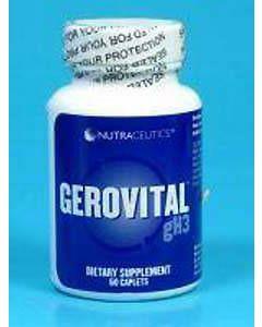Gerovital GH3 60 tabs by Nutraceutics
