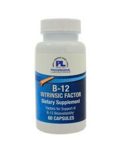 B-12 Intrinsic Factor 60 caps Progressive Labs