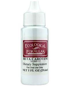 Beta Carotene 10,000 IU  Ecological Formulas