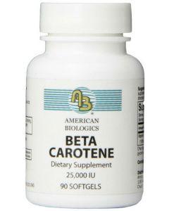 Beta Carotene 25000 IU American Biologics