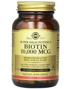 Biotin 10,000 mcg 120 VCaps Solgar