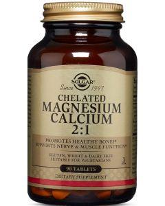 Chelated Magnesium Calcium 2:1 90 tablets Solgar