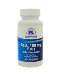 CoQ10 100 mg Plus E Progressive Labs
