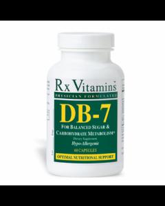 DB-7 60 vcaps  Rx Vitamins