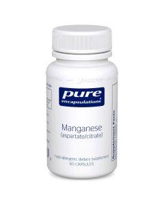 Manganese aspartate/citrate 60 Pure Encapsulations