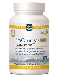 ProOmega 2000 60 gels by Nordic Naturals