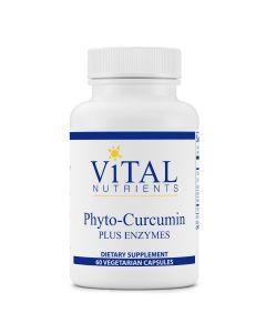 Phyto-Curcumin Plus Enzymes 60 vcaps Vital Nutrients