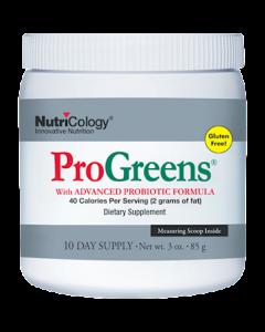 Progreens 10 day supply Nutricology