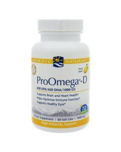 ProOmega-D 1000 mg 60 gels Nordic Naturals
