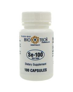 Se-100 (Seleno-Methionine) Non-Yeast 100 caps Bio-Tech