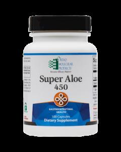 Super Aloe 450 100 caps Ortho Molecular
