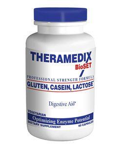 Gluten, Casein, Lactose Digestive Aid 60 vcaps by Theramedix