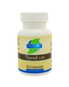 Thyroid 130 mg 90 caps Priority One