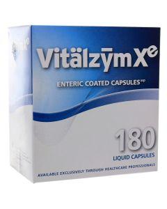 Vitalzym Xe 180 enteric-coated liquid caps World Nutrition