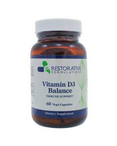 Vitamin D3 Balance 60 vcaps Restorative Formulations