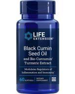 Black Cumin Seed with Bio-Curcumin 60 sgels Life Extension